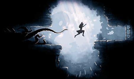 """Das Bild zeigt die Protagonistin aus """"Scarlett Deer Inn"""", vor einem Tentakel flüchtend."""