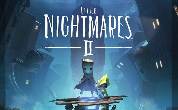 """Das Bild zeigt das Logo von """"Little Nightmares II"""". Es handelt sich um ein Spiel aus dem Hause """"Tarsier Studios""""."""