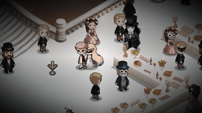 """Das Bild zeigt eine Szene aus dem Spiel """"MazM: The Phantom of the Opera""""."""