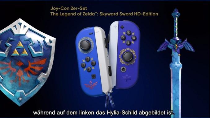 "Das Bild zeigt das ""Skyward Sword HD"" Joy-Con 2er-Set."