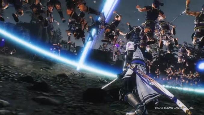 """Das Bild zeigt einen Kampf im """"Samurai Warriors 5""""."""