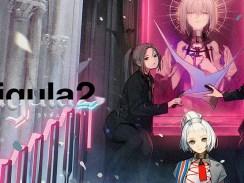 """Das Bild zeigt das Log von """"The Caligula Effect 2""""."""