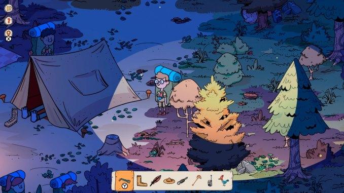 """Das Bild zeigt eine Szene aus dem Spiel """"Wind Peaks""""."""