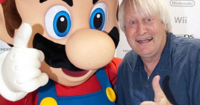 Das Bild zeigt Charles Martinet, den Synchronsprecher von Super Mario