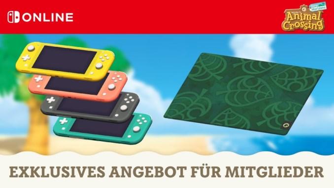 """Das Bild zeigt exklusive Items für Nintendo Switch Online Mitlgieder in """"Animal Crossing: New Horizons""""."""