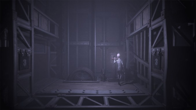 """Das Bild zeigt eine Szene aus dem Spiel """"DARQ Complete Edition""""."""