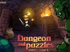 Das Bild zeigt das Titelbild des Spiels Dugeon and Puzzle