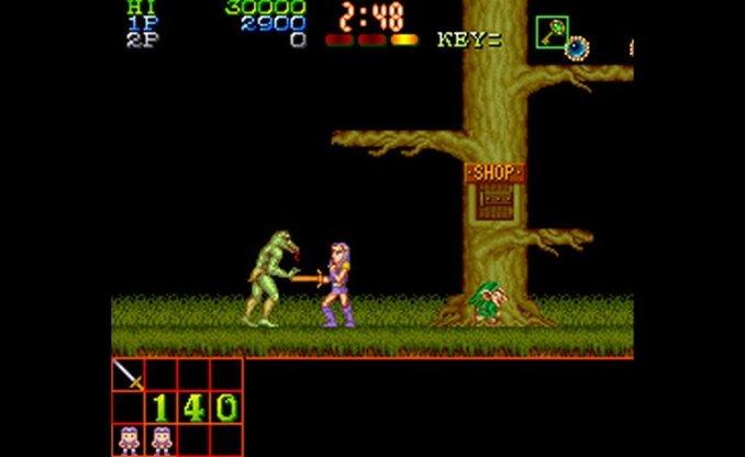 """Das Bild zeigt eine Szene aus dem Spiel """"Legend of Makai""""."""