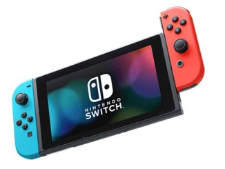 Zu sehen ist die Switch von Nintendo