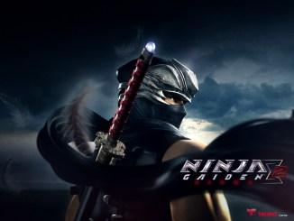Das Bild zeigt das Titelbild aus dem Spiel Ninja Gaiden