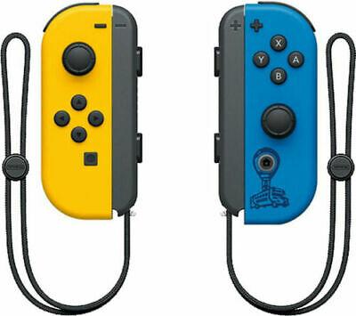 Das Bild zeigt die Joy-Con aus dem Switch Fortnite-Bundle. Die Fortnite-Edition Joy-Con sehen anders aus.