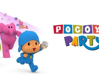 "Das Bild zeigt das Logo on ""Pocoyo Party""."