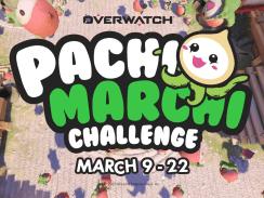 """Das Bild zeigt das Logo der """"Pachimarchi Challenge"""" aus dem Spiel """"Overwatch""""."""