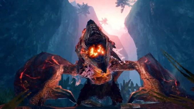 """Das Bild zeigt den Apex-Rathalos in """"Monster Hunter Rise""""."""