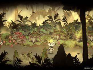 """Das Bild zeigt eine Szene aus dem Spiel """"The Wicked King and the Noble Hero""""."""