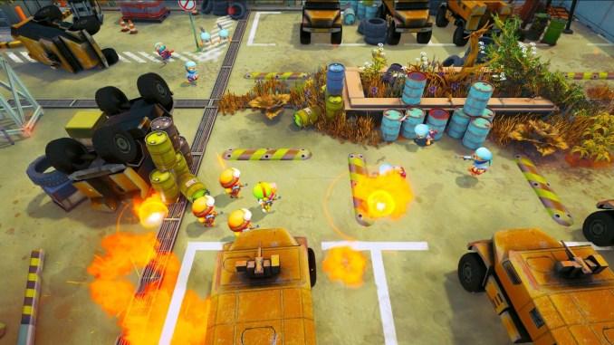 """Das Bild zeigt eine Spielszene aus """"Tiny Troopers Global Ops""""."""