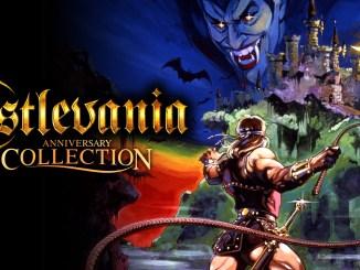Das Bild präsentiert ein Spiel namens Castlevania