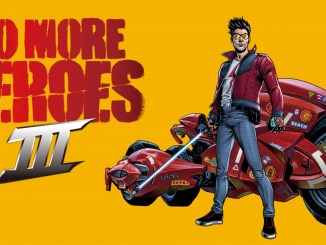 Das Bild zeigt das Titelbild des Spiels No More Heros III