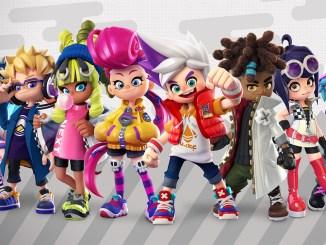 """Das Bild zeigt die Charaktere aus dem Spiel """"Ninjala""""."""