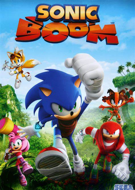 Das Bild zeigt das Titelbild des Spiels Sonic Boom