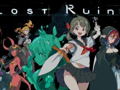"""Das Bild zeigt das Logo von """"Lost Ruins""""."""