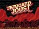 """Das Bild zeigt das Logo von """"Jetboard Joust""""."""