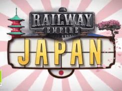 """Das Bild zeigt das neuste Logo des Japan-DLC von """"Railway Empire""""."""