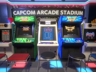 """Das Bild zeigt das Logo von """"Capcom Arcade Stadium""""."""