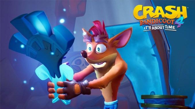 """Das Bild zeigt eine Szene aus dem Spiel """"Crash Bandicoot™ 4: It's About Time""""."""