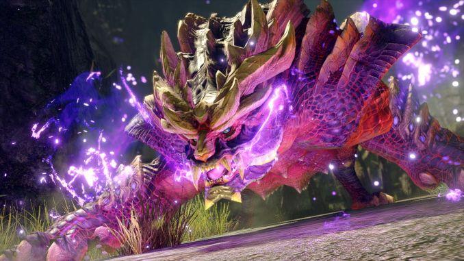 """Das Bild zeigt einen Charakter aus dem Spiel """"Monster Hunter Rise""""."""
