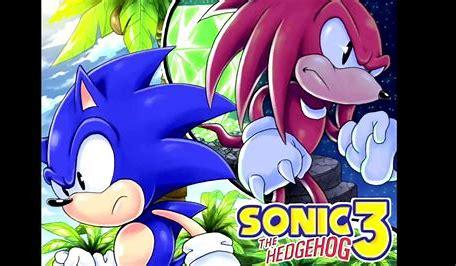 Das Bild zeigt zwei Charaktere aus dem Spiel Sonic the Hedgehog 3.