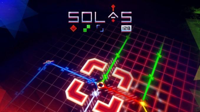 """Das Bild zeigt das Logo von """"SOLAS 128""""."""