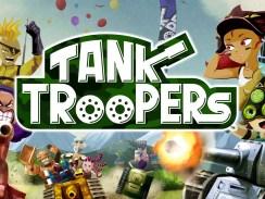 """Das Bild zeigt das Logo von """"Tank Troopers""""."""