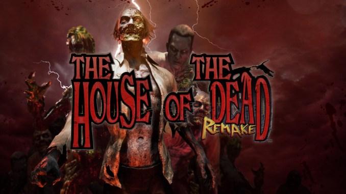 """Das Bild zeigt das Logo des """"The House of the Dead: Remake""""."""