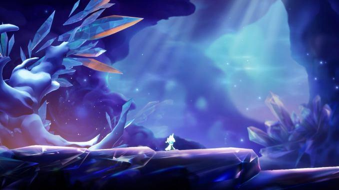 """Das Bild zeigt den Hauptprotagonisten in der Tiefseewelt von """"Lumione"""""""
