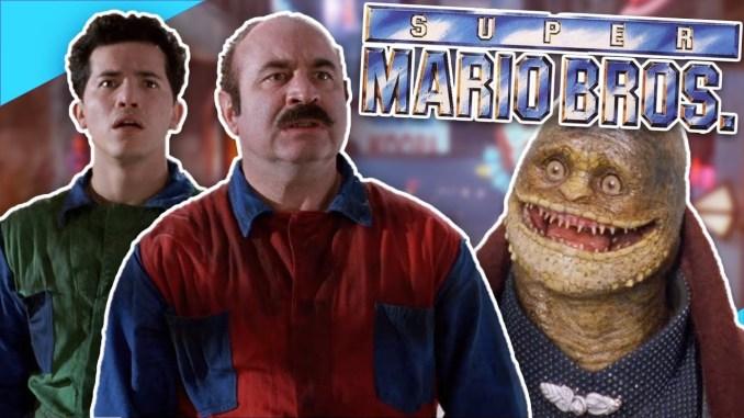 Das Bild zeigt uns den Super Mario Film aus dem Jahr 1993