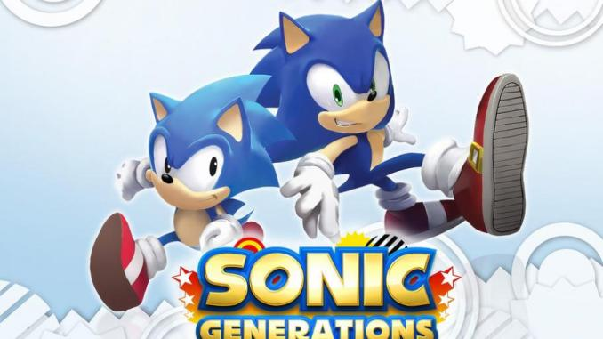 Das Bild zeigt das Titelbild aus dem Spiel Sonic Generations.