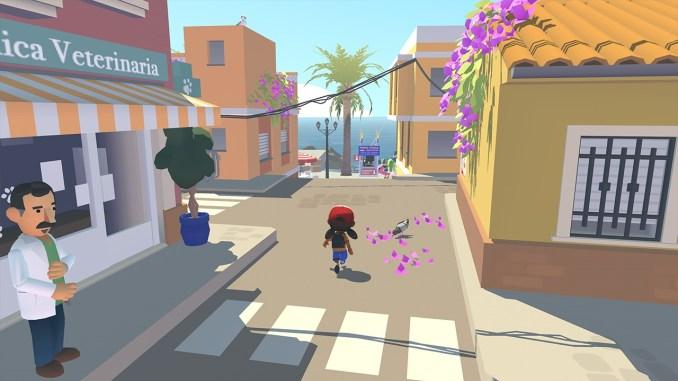 """Das Bild zeigt eine Szene aus dem Spiel """"Alba: A Wildlife Adventure""""."""