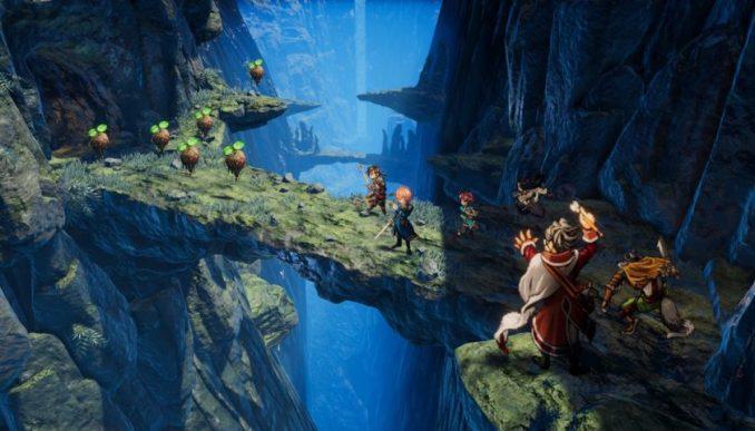 """Das Bild zeigt eine Szene aus dem Spiel """"Eiyuden Chronicle: Hundred Heroes""""."""