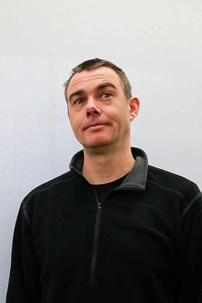 Das Bild zeigt Giles Goddard, Gründer des Studios Vitei.