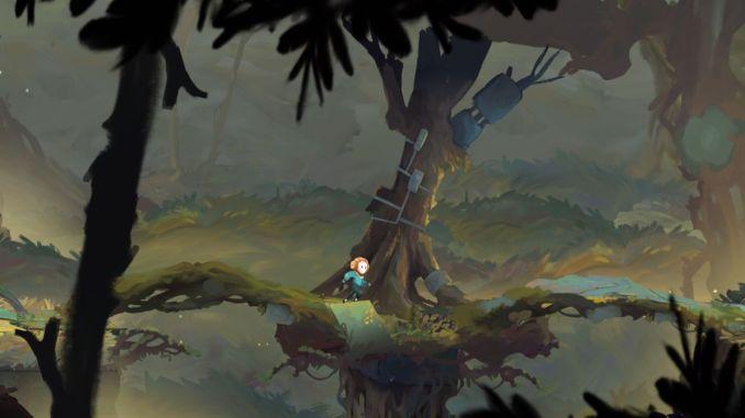 """Das Bild zeigt eine Szene aus dem Spiel """"Out of Line""""."""
