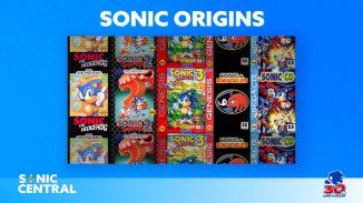 """Das Bild zeigt das Logo zu """"Sonic Origins""""."""