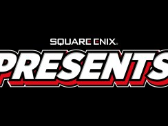 """Das Bild zeigt das Logo """"Square Enix Presents""""."""