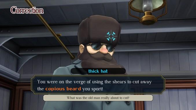 """Das Bild zeigt eine Szene aus dem Spiel """"The Great Ace Attorney Chronicles""""."""