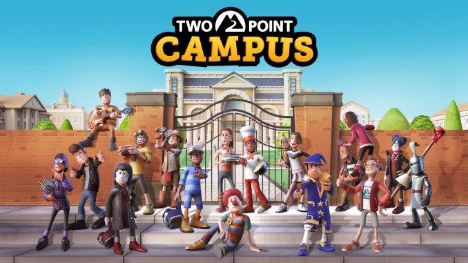 """Das Bild zeigt das Logo von """"Two Point Campus""""."""