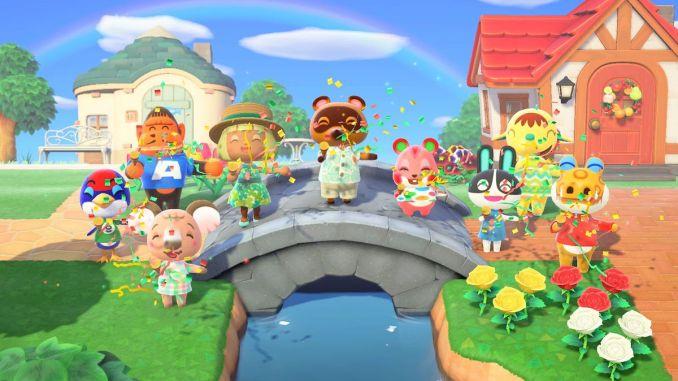 """Das Bild zeigt Artwork zum Nintendo Switch-Spiel """"Animal Crossing New Horizons""""."""