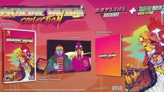 """Das BIld zeigt die neue physische Version von """"Hotline Miami Collection""""."""