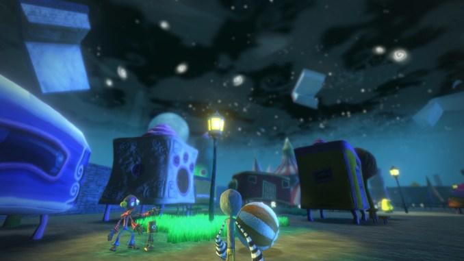 """Das Bild zeigt das Gameplay aus dem Spiel """"Onirike"""". Zu sehen ist der Hauptcharakter namens Prieto."""