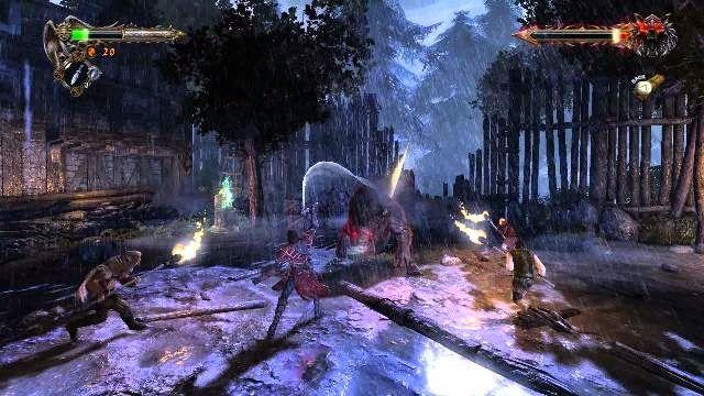 Das Bild zeigt einen Ingame-Screen von Castlevania: Lords of Shadow