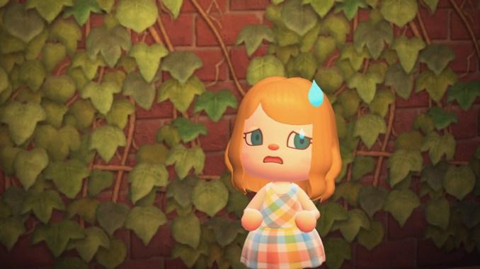 """Das Bild zeigt einen Charakter in """"Animal Crossing: New Horizons""""."""